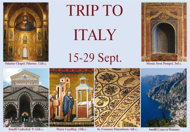 TRIP TO ITALY SUZANNE flyer