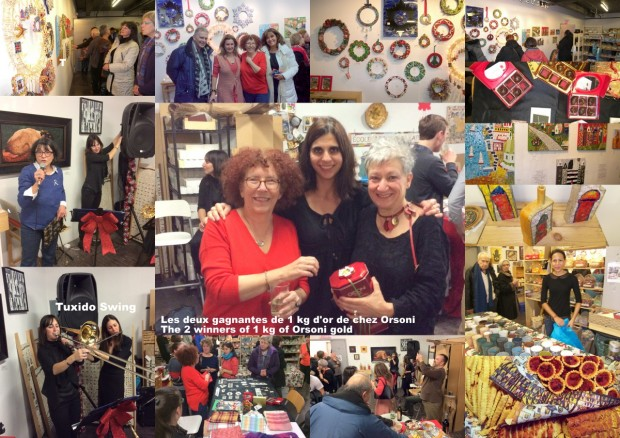 Christmas Bazaar and wreath exhibition l@Mosaikashop