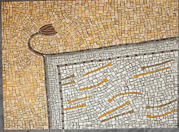 tappeto beccheria Carrara mq 35