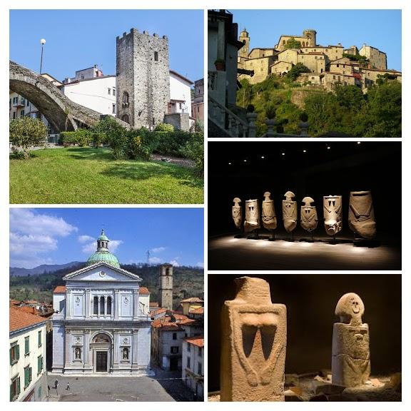 12) Duomo di Pontremoli-COLLAGE